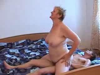 Porn Tube of Ugly Granny And Her Man Having Fun