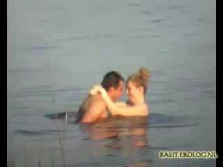 Porn Tube of Voyeur Spy Cam Caught Couple In The Lake