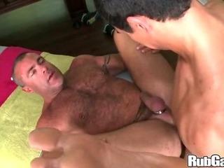 Porno Video of Rubgay Massage My Ripe Ass