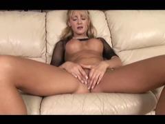 Sexy blonde milf fucks her friend
