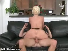 MILF Gets Nailed By Assistant From Behind