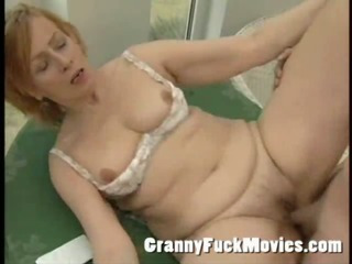 Porn Tube of Fresh Grandma Fucked By Stud