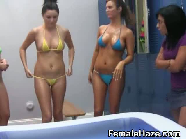 bikini college sex party