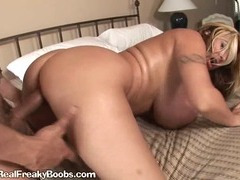 Blonde With Big tits Gets Nailed From Behind