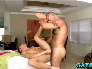 Porno Video of Getting Ass Filled At Massage