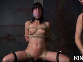 Porno Video of Pantyhose Used For Bondage