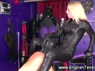 Porn Tube of Mistress Rules Over Subject Inside The Playroom