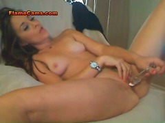 Sexy Little Tits Brunette