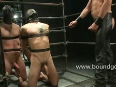 Spencer Reed fucks Jake hard in bondage