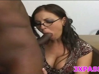 Porn Tube of Naughty Girl Loves Black