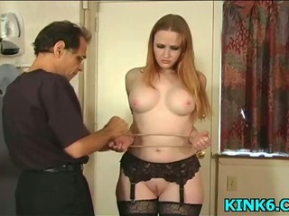 Porn Tube of Sexy Babe Tits Punished