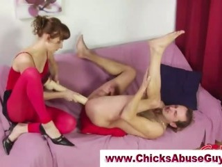 Porno Video of Dirty Femdom Bitch In Heels