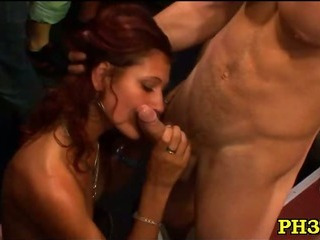 Porn Tube of Group Sex Wild Patty At Night Club