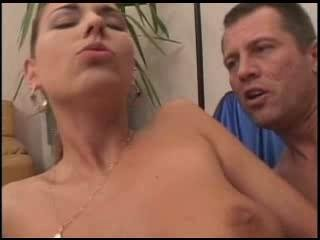 Sex Movie of Stunning Simony Triple Cock Gangbang