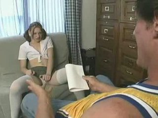 Porno Video of Tight Schoolgirl Anika Fucked Hard And First Facial Cumshot