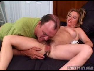 Porn Tube of Mature Blonde Hairy Pussy
