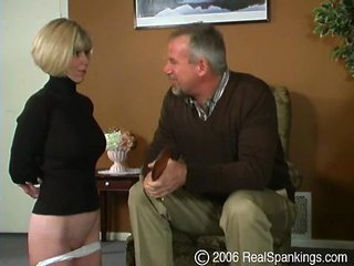 Porn Tube of Punished In The Living Room #2