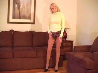 handjob miniskirt