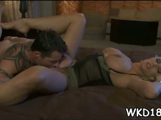 Porno Video of Fat Rod Stuffs Wet Snatch