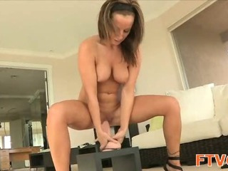 Porno Video of Dildo In Her Wet Holes