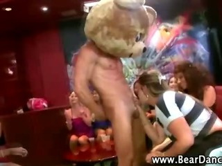 Porn Tube of Real Amateur Cfnm Party Girl Blowjob Cumshot