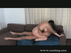 Casting Fun with Big natural tits!