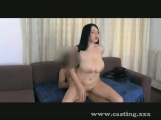 Porno Video of Casting Fun With Big Natural Tits!