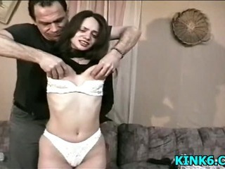 Porn Tube of Bound And Restrained Girl