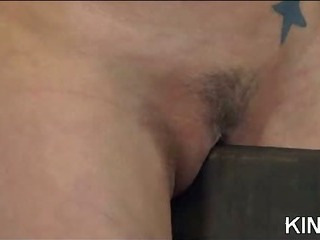 Porn Tube of Kinky Babe Bound And Spread