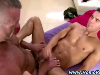 Porn Tube of Watch Straight Guy Cum After Jerking Off