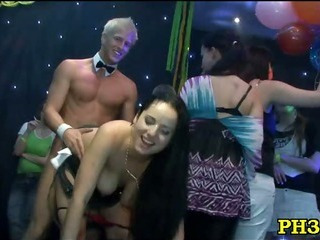 Porno Video of Group Sex Wild Patty At Night Club