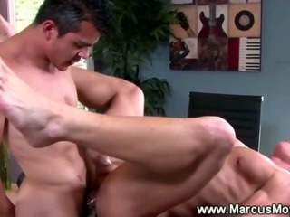 Porn Tube of Straight Guy Gets His Asshole Teared Up