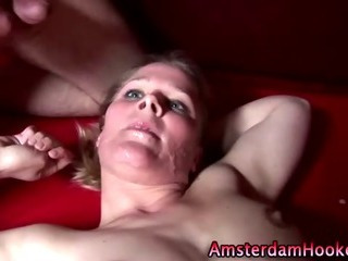 Porn Tube of Check Dutch Real Whore Gets A Hot Facial