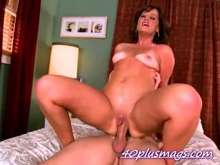 Porn Tube of Mature Sherry Fucking Hardcore Style