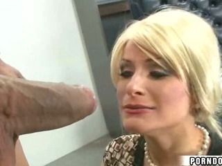 Porn Tube of Blonde Girl Fucks Huge Cock