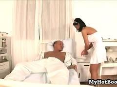 Angelika Black is head nurse  at the sex rehab hos