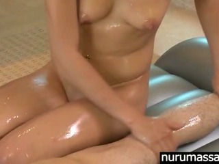Sex Movie of Very Sexy Slim Asian Babe Ariel Rose Body To Body Massage Till Cumshot