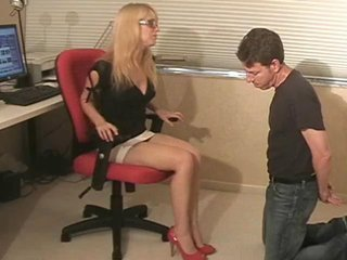 Sex Movie of Office Ballbusting