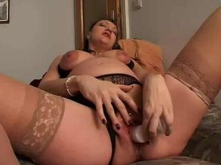 Porn Tube of Pregnant Solo Action