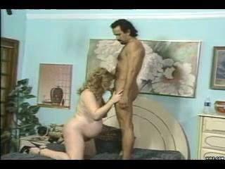 Porn Tube of Curly Preggo Fucking