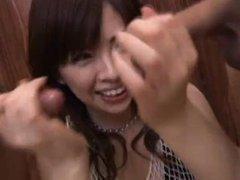Japanese Hottie Ran Monbu