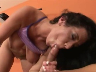 Sex Movie of Hardcore Drilling At The Gym With Star