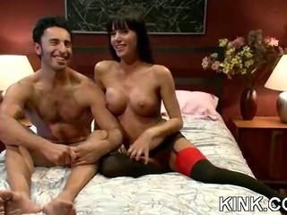 Porno Video of French Girl Bound And Double Penetrated