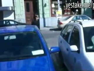 Porn Tube of Teen Girl Gets Money For Showing Off And Sucking In Taxicab