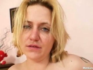 Porno Video of Amateur Mom With Big Natural Tits Masturbates