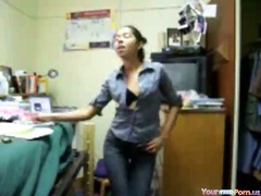 USA College Student Dorm Sextape