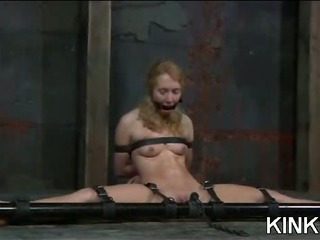 Porno Video of Submissive Gagged And Teased