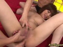 Harumi Asano Asian chick gets