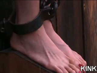 Porn Tube of Babe In Heels Bound