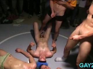 Porno Video of Straight Guys Getting Hazed
